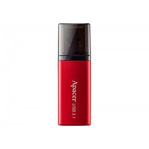 Флеш-накопитель USB3.1 128GB Apacer AH25B Red (AP128GAH25BR-1), фото 2