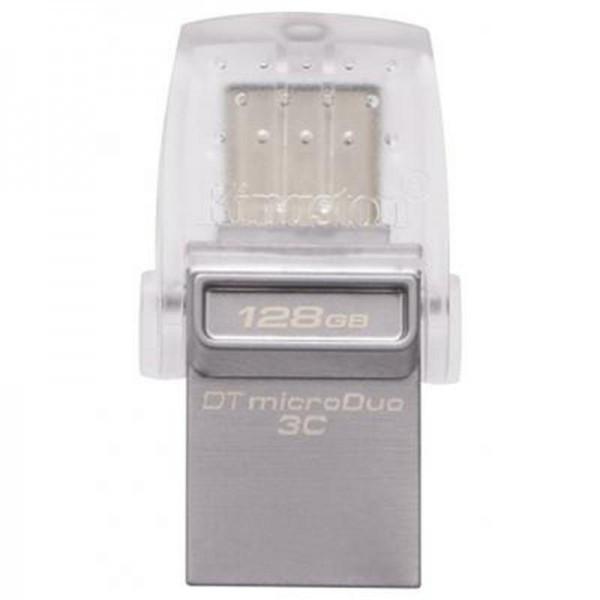 Флеш-накопитель USB3.1 128Gb Kingston DataTraveler microDuo 3C (DTDUO3C/128GB)