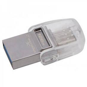 Флеш-накопитель USB3.1 128Gb Kingston DataTraveler microDuo 3C (DTDUO3C/128GB), фото 2