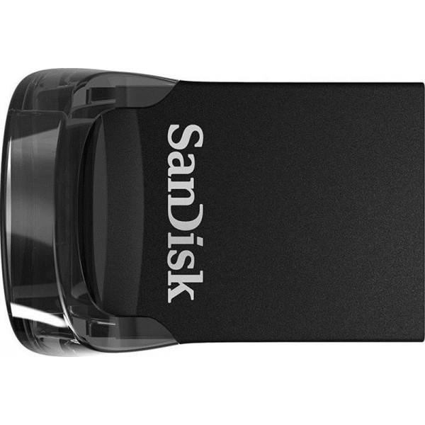 Флеш-накопитель USB3.1 32GB SanDisk Ultra Fit Black (SDCZ430-032G-G46)