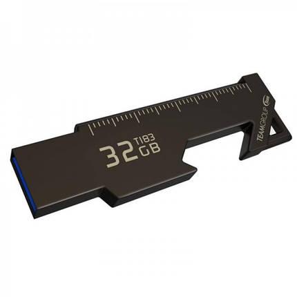 Флеш-накопитель USB3.1 32GB Team T183 Black (TT183332GF01), фото 2