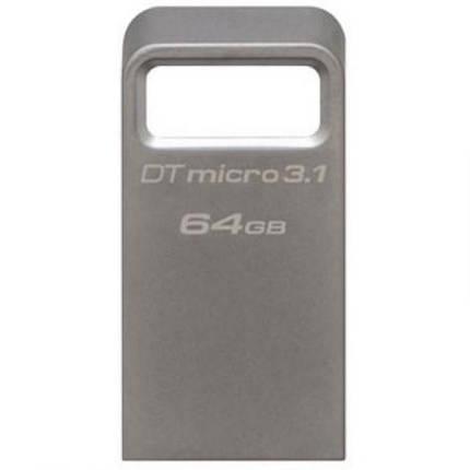 Флеш-накопитель USB3.1 64Gb Kingston DataTraveler Micro USB 3.1 (DTMC3/64GB), фото 2