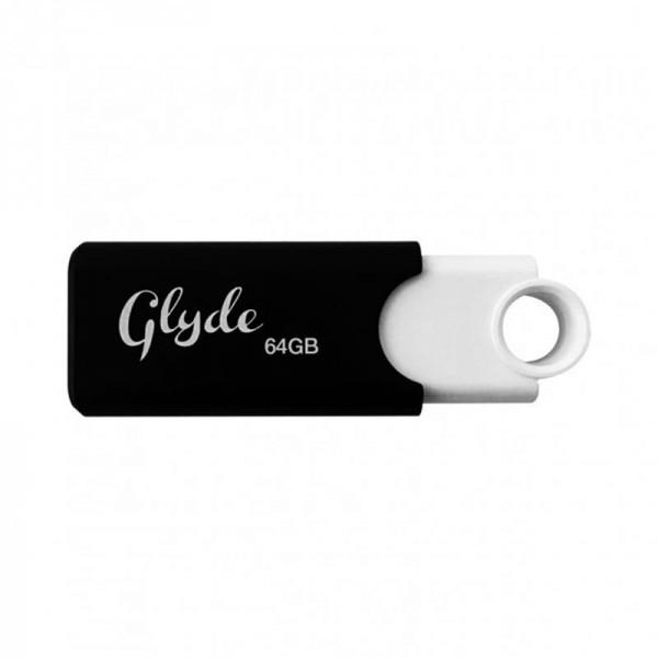 Флеш-накопитель USB3.1 64GB Patriot Glyde White/Black (PSF64GGLDB3USB)