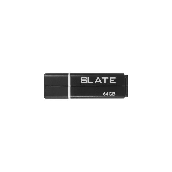 Флеш-накопитель USB3.1 64GB Patriot Slate Black (PSF64GLSS3USB)