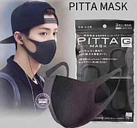 Многоразовые маски Pitta 3 шт