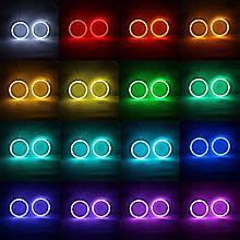 Ангельские глазки (4*120 мм ) для BMW E34 LED Cotton RGB