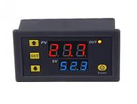 Терморегулятор цифровой W3230 питание DC 12В (Термостат, термореле, нагрузка до 20А)