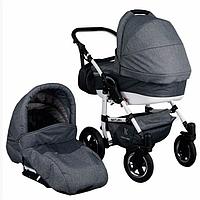 Детская универсальная коляска 2 в 1 Victoria Gold SATURN Серый