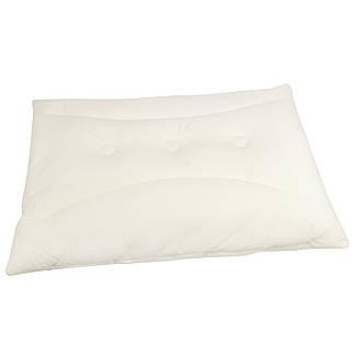 Ортопедическая подушка для сна с пружинным блоком 50х70 чехол 100% хлопок Крем Homeline, фото 2