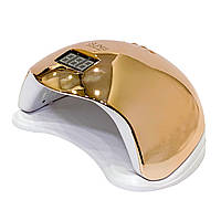 Лампа для гель-лака Uv-Led SUN 5 48 вт mirror gold (зеркальная золотая)