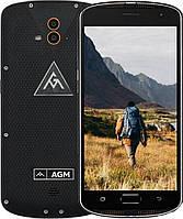 Защищенный телефон AGM X1 4/64GB LTE Black противоударный водонепроницаемый смартфон