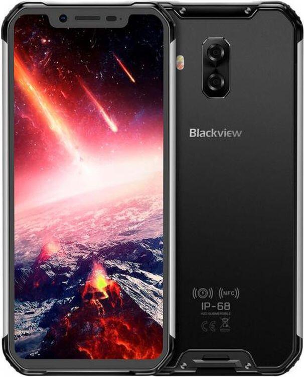 Защищенный телефон Blackview BV9600E 4/128GB Silver противоударный водонепроницаемый смартфон