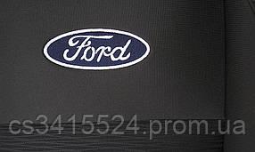 Автомобильные чехлы в салон FORD CONECT  1+1   столик     2002-13    2подгол/передний подлокотник