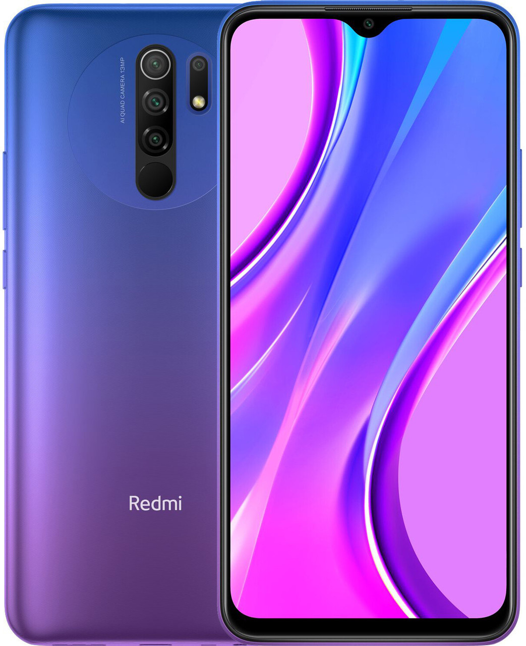 Смартфон Xiaomi Redmi 9 4/64Gb Purple (Global) БЕЗ NFC
