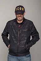 Куртка Miorichi Мужская ветровка 54 Милитари (m01117b-blue54)
