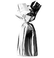 """Грузик для воздушных шаров """"Конфета"""" вес - 30 г., цвет - серебро"""