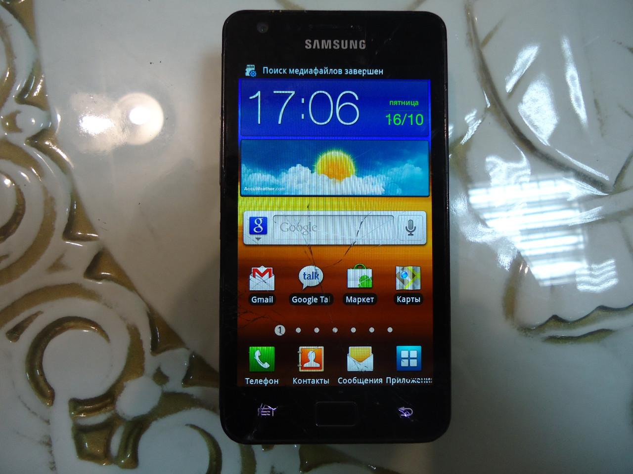Мобильный телефон Samsung Galaxy S II GT-I9100 на запчасти