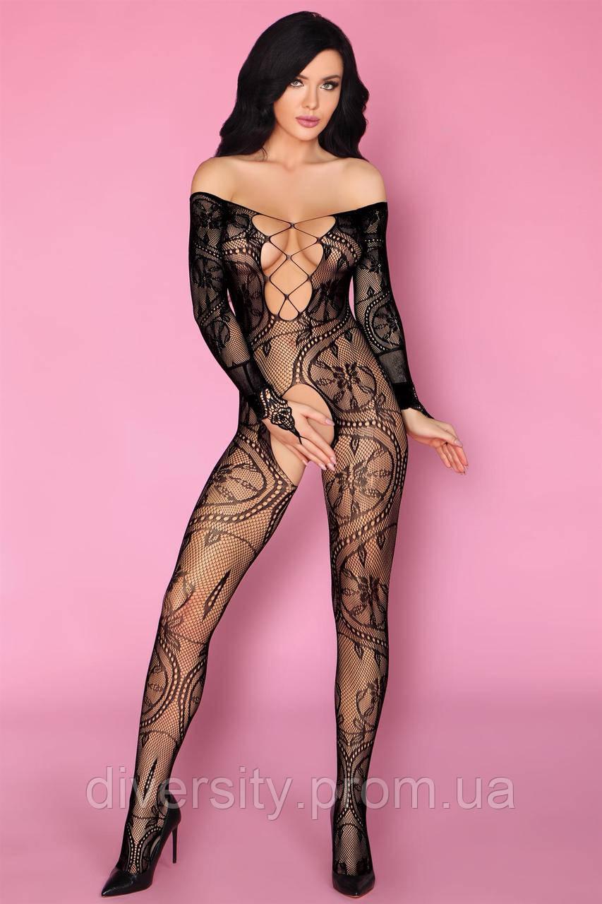 Olamiden боді-комбінезон чорний Livia Corsetti Fashion (S/L)