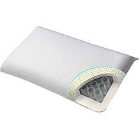 Ортопедическая подушка для сна с эффектом памяти и пружинным блоком 41х70 Homeline