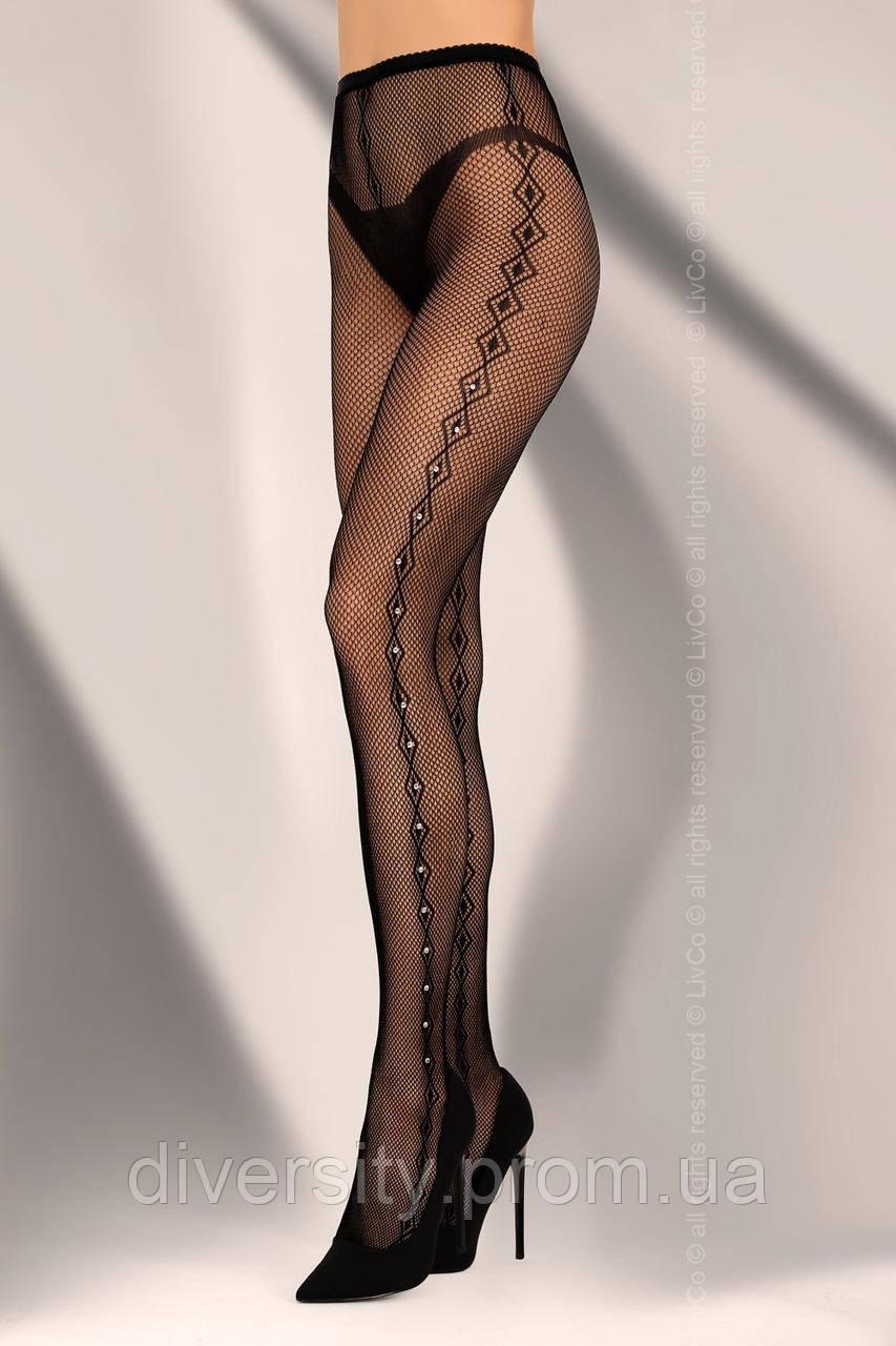 Kamalain еротичні колготи чорні Livia Corsetti Fashion (S/L)