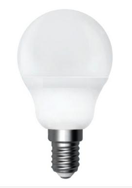 Светодиодная лампа E14 6W шар LEDEX