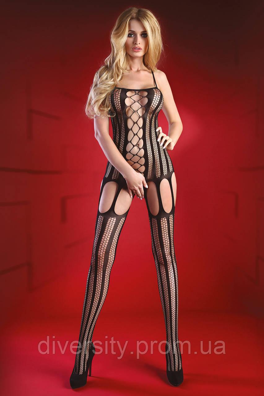 Almas боді-комбінезон чорний Livia Corsetti Fashion (S/L)
