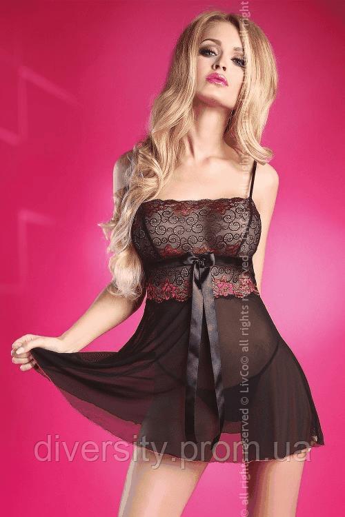 Rhoda сорочка чорна Livia Corsetti Fashion (L/XL, чорний)
