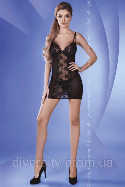 Pankhudi сорочка чорна Livia Corsetti Fashion (S/M)