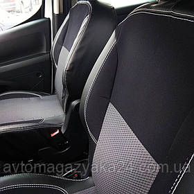 Автомобильные чехлы в салон Dacia Logan MCV 5 мест с 2006-2012 г деленная (Elegant)