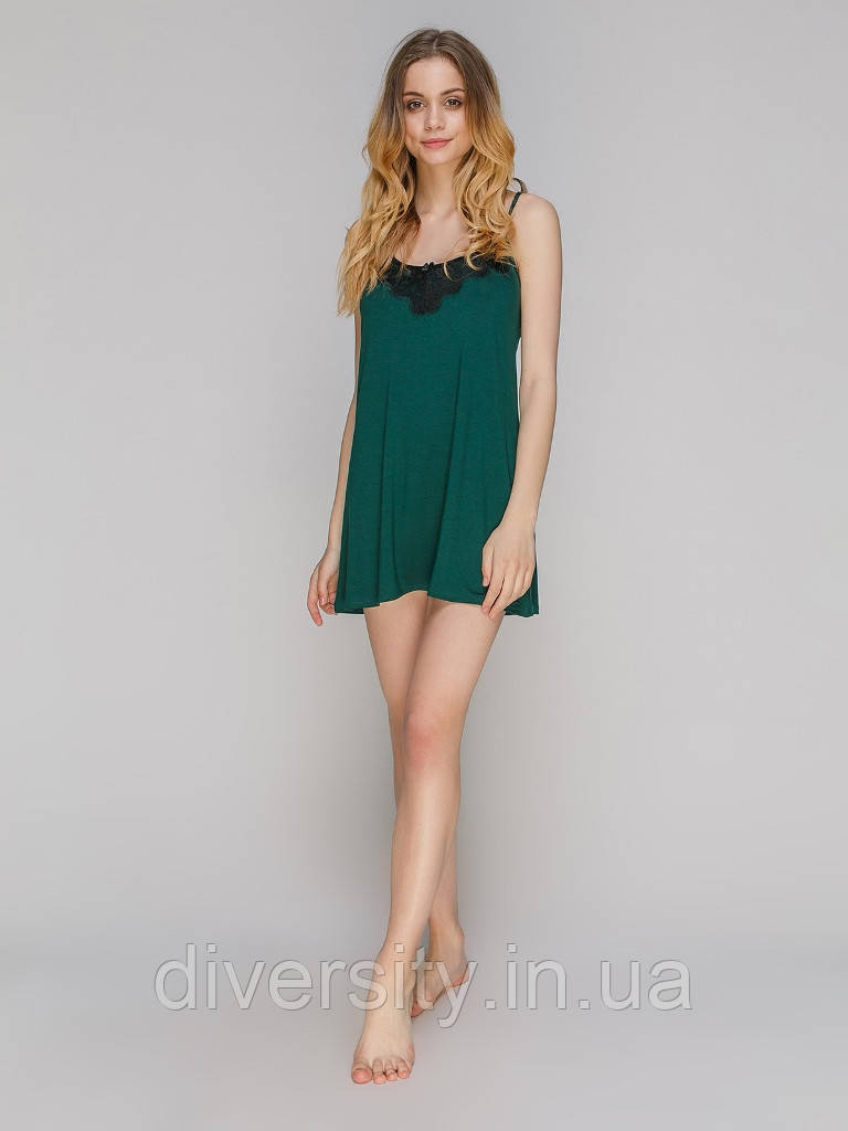 5521S сорочка віскоза зелена Serenade (S)
