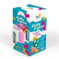 "Набор воздушного пластилина ""Fluffy"", 8 цветов TA1503"