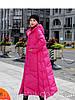 Женская куртка на пуговицах ,длинная свободное зимнее пальто с капюшоном, большого размера 4 цвета