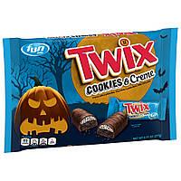 Шоколад TWIX Cookies & Creme Chocolate Candy Halloween FUN SIZE 277g, фото 1