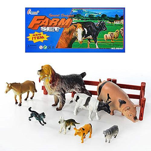 Набір свійських тварин H640