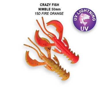 """Съедобный силикон Crazy Fish Nimble 2"""" 50-50-15d-6-F кальмар"""