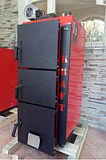 Лучший котел длительного горения Kraft серия L 15 кВт на электронном управлении сталь 6 мм!!  / Крафт L, фото 3