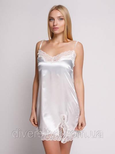 107 сорочка атлас молочна Serenade (S)