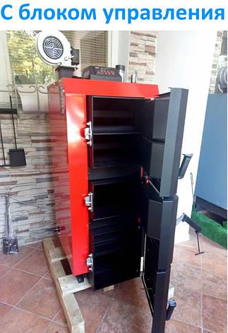 Лучший котел длительного горения Kraft серия L 15 кВт на электронном управлении сталь 6 мм!!  / Крафт L, фото 2