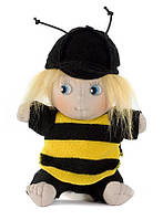 """Оригинальная флисовая кукла ручной работы Rubens Barn """"Пчелка"""" (10049)"""