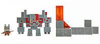 """Коллекционные мини-фигурки """"Minecraft (Майнкрафт) Dungeons"""" 2 фигурки в наборе"""