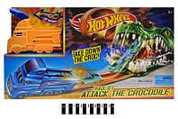 """Трек-запуск """"Hot Wheels Crocodile"""" с 1 машинкой 3078"""
