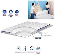 Ортопедический матрас для дивана 75x180 «TOP AIR Foam» двухсторонний тонкий матрац на диван топпер