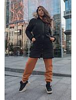 Женская зимняя куртка Staff joy black, фото 1