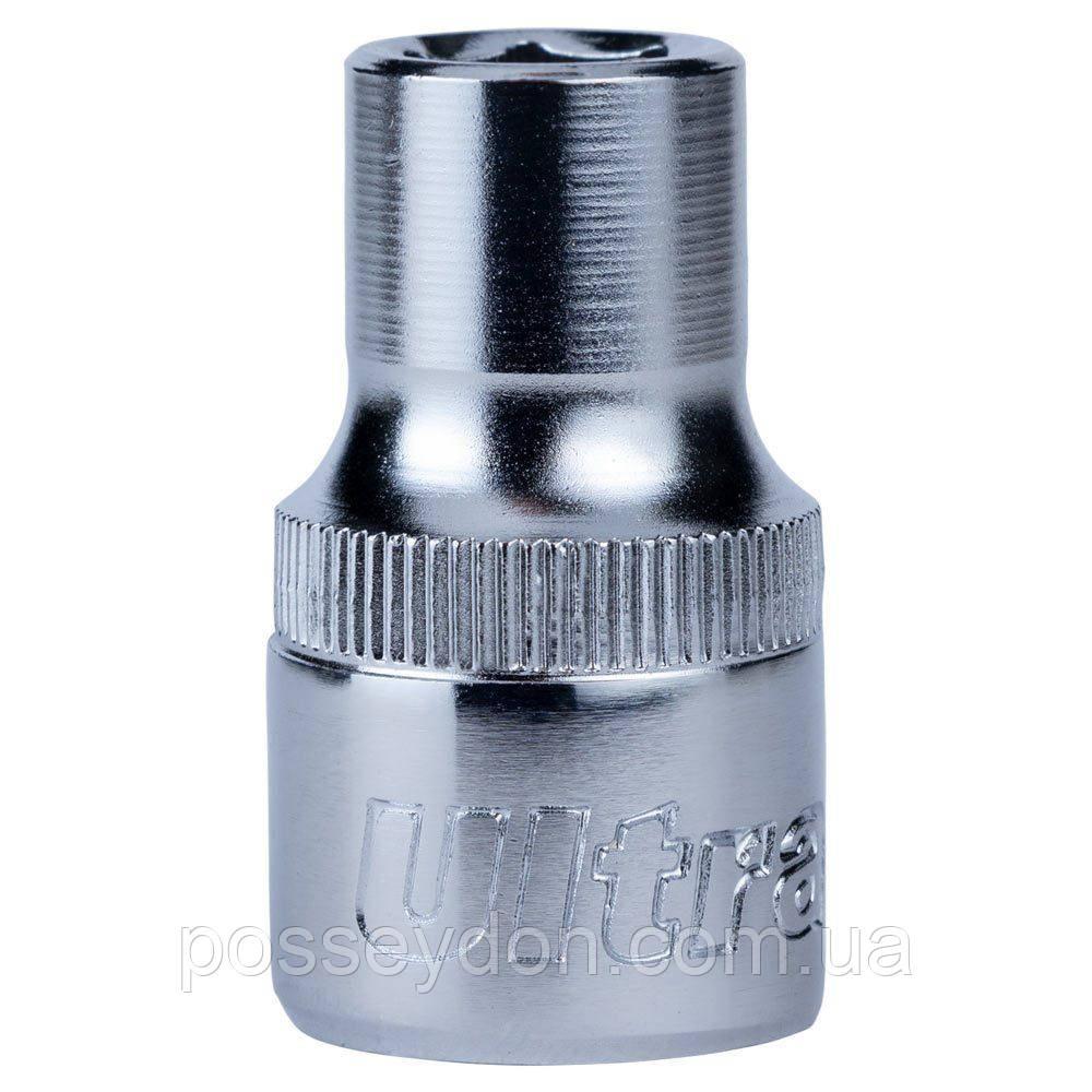 """Насадка шестигранная короткая 1/2"""" 10мм CrV ULTRA (6070102)"""