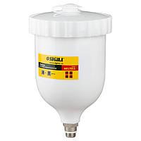 Верхній Бачок для фарборозпилювача HP (верх/пласт) 600мл SIGMA (6817011)