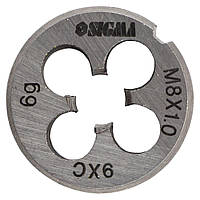 Плашка М8×1,0мм SIGMA (1604201), фото 1