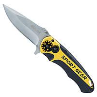 Нож раскладной 115мм (рукоятка алюминиевый сплав) SIGMA (4375751), фото 1