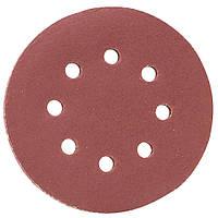 Шлифовальный круг 8 отверстий Ø125мм P320 (10шт) SIGMA (9122731), фото 1
