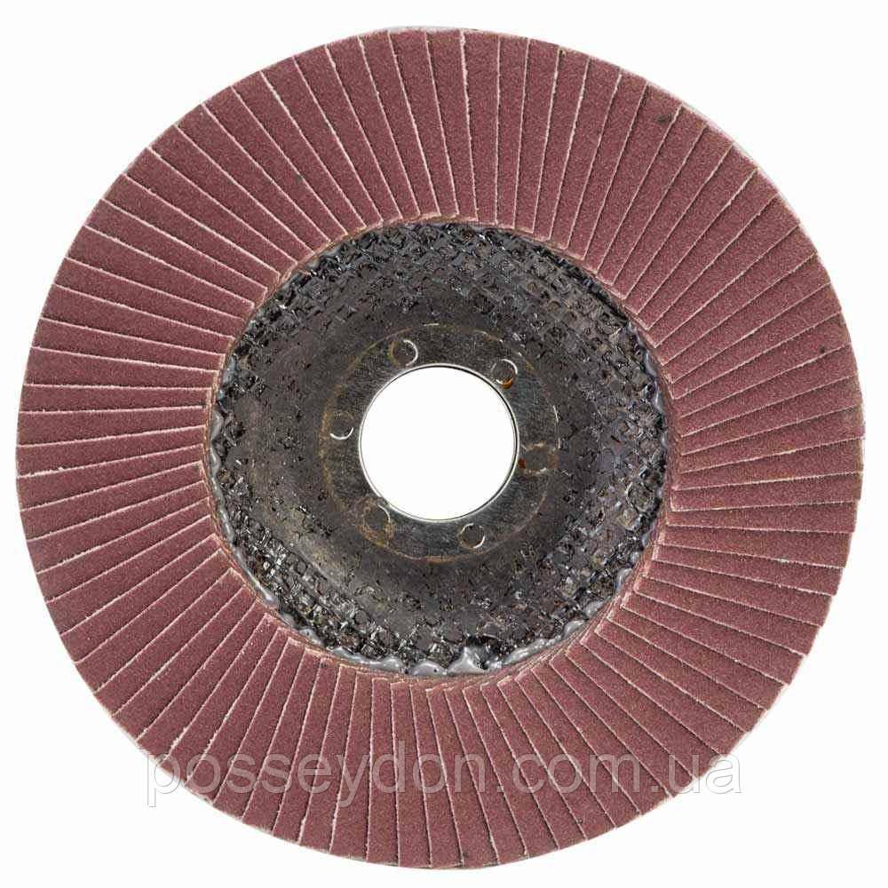 Круг лепестковый торцевой Т27 (прямой) Ø125мм P180 SIGMA (9172161)