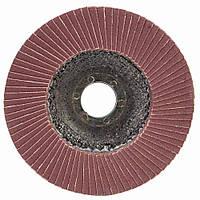 Круг лепестковый торцевой Т27 (прямой) Ø125мм P180 SIGMA (9172161), фото 1